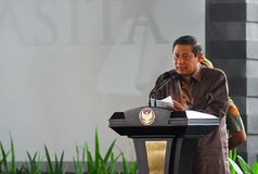 INDONESIAN PRESIDENT YUDHOYONO Stock Photos