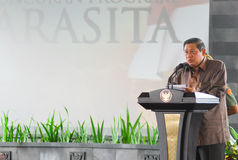 INDONESIAN PRESIDENT YUDHOYONO Royalty Free Stock Photos