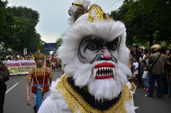 INDONESIAN PUPPET CARNAVAL Stock Photography