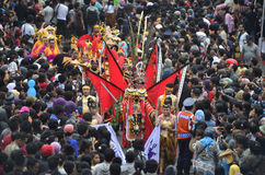 INDONESIAN PUPPET CARNAVAL Royalty Free Stock Photos