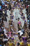INDONESIAN PUPPET CARNAVAL Royalty Free Stock Photography