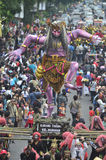 INDONESIAN PUPPET CARNAVAL Royalty Free Stock Image