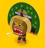 Indonesian Reog Royalty Free Stock Image