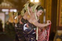 INDONESIAN ROYAL CLASSIC DANCE Stock Photos