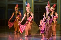 INDONESIAN ROYAL CLASSIC DANCE Stock Images