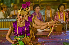 INDONESIAN ROYAL CLASSIC DANCE Stock Photos