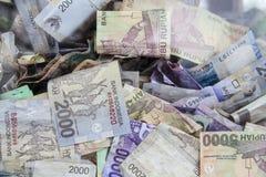 Indonesian Rupiah banknotes Royalty Free Stock Image