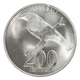 Indonesian rupiah coin Stock Images