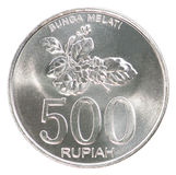 Indonesian rupiah coin Royalty Free Stock Images