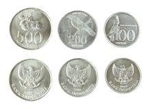 Indonesian Rupiah Coins Royalty Free Stock Photos