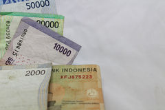 Indonesian rupiah currency exchange financial business economy Royalty Free Stock Photos