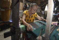 INDONESIAN RUPIAH SIX YEARS LOW DROP Stock Photo