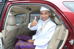 Indonesian's groom Stock Images