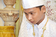 Indonesian's groom Stock Image