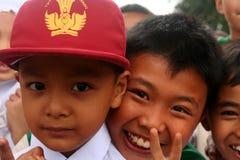 Indonesian schoolchildren Stock Photos