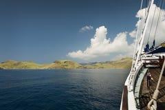 Indonesian Schooner Travel Stock Image
