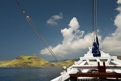 Indonesian Schooner Travel Royalty Free Stock Photography