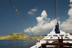 Indonesian Schooner Travel Royalty Free Stock Photography