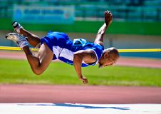 INDONESIAN SENIOR ATHLETES Royalty Free Stock Images