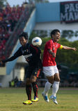 INDONESIAN SOCCER GAME Stock Images