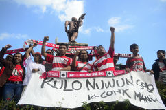 INDONESIAN SOCCER TROUBLES Stock Photos