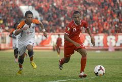 INDONESIAN SOCCER TROUBLES Stock Photography