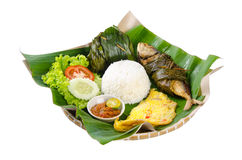 Indonesian special fish dish, Ikan, on background Stock Photography