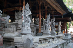 The Indonesian statues of the deities Royalty Free Stock Image