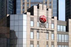 Indonesian Stock Exchange Royalty Free Stock Photos