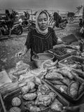 Indonesian street food stock image