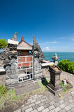 Indonesian temple on the Tanah lot complex. Bali. Indonesia Stock Photography