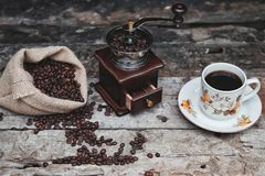 Indonesian traditional coffee stock photo