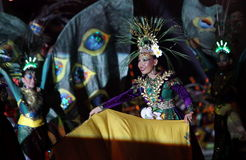 Indonesian Traditional Dance Royalty Free Stock Photos