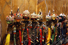 Asia Traditional Puppets, Indonesia Stock Image