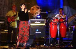 Indonesian traditional music keroncong Royalty Free Stock Images