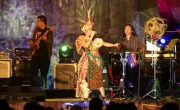Indonesian traditional music keroncong Stock Photo