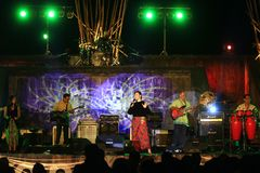 Indonesian traditional music keroncong Royalty Free Stock Photography