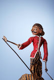 Indonesian Traditional Puppet Royalty Free Stock Photography