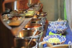 Indonesian traditional restaurant Stock Photo