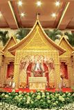 Indonesian Traditional Wedding Decoration Stock Images