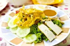 Indonesian vegetarian food Royalty Free Stock Photos