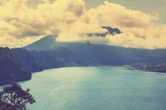 Indonesian volcano Royalty Free Stock Images