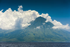 Indonesian Volcano Royalty Free Stock Photos