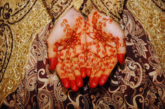 Indonesian Wedding Bride Royalty Free Stock Photo