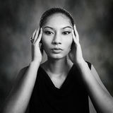 Indonesian woman Royalty Free Stock Image