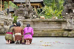 Indonesian woman praying Stock Photography