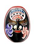 Indonesian Wooden Mask stock photo