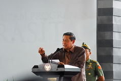 INDONESIAN YUDHOYONO AFTER PRESIDENCY Royalty Free Stock Photos