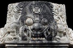 Indonesien, Bali: Skulptur von kala Lizenzfreie Stockbilder