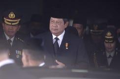 INDONESIEN-EHEMALIGER PRÄSIDENT YUDHOYONO lizenzfreie stockfotografie